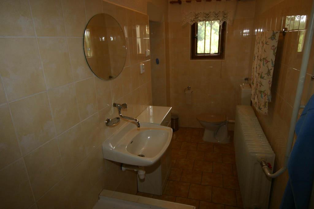Koupelna a WC v přízemí