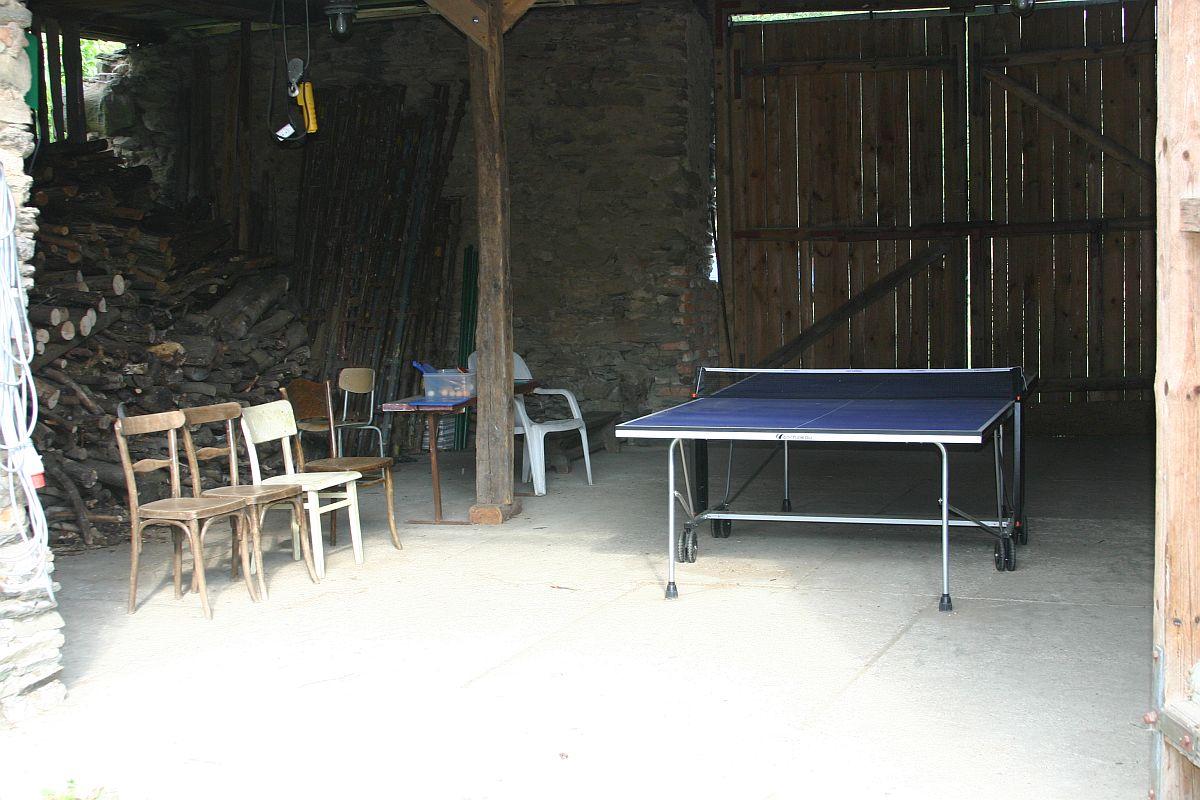 Krytá hala na ping-pong